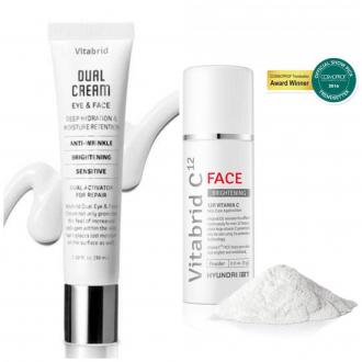 DUAL krém + Vitabrid C12 FACE Powder